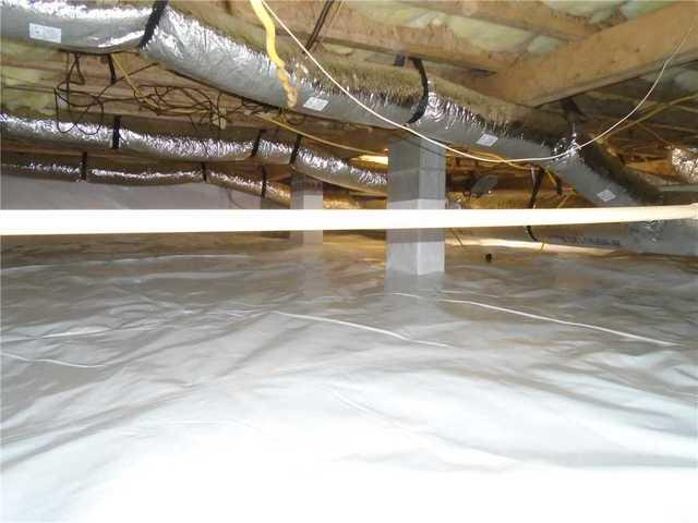 Crawlspace Encapsulation with CleanSpace in Liberty, SC