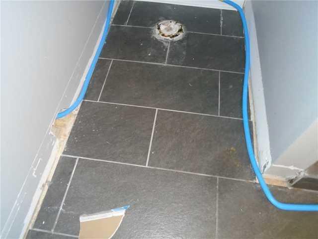 WaterGuard installed in Fininshed Basement in Cross Hill, SC