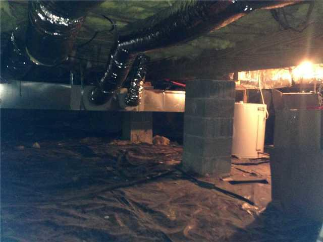 Crawl Space Encapsulation in Cashiers, NC