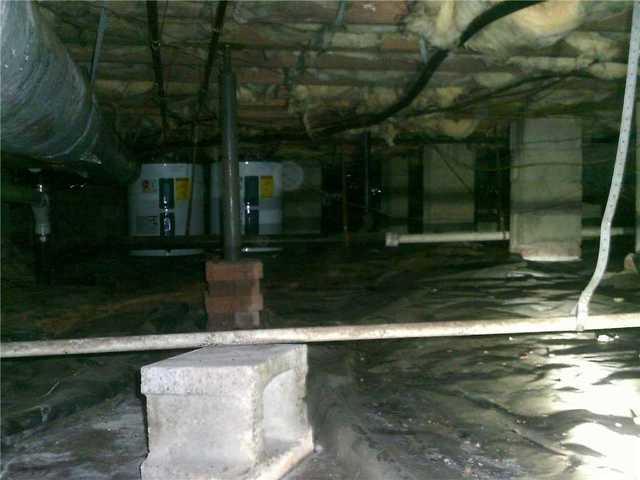 Boiling Springs, SC Crawl Space Encapsulation - Before Photo