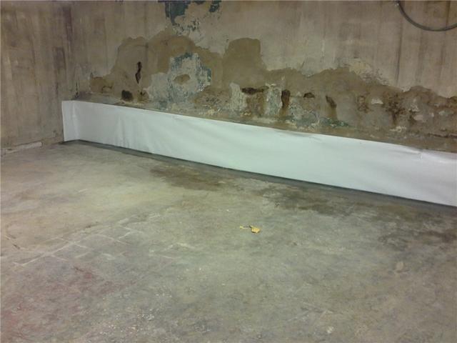 Basement Waterproofing w/ WaterGuard in Union, SC