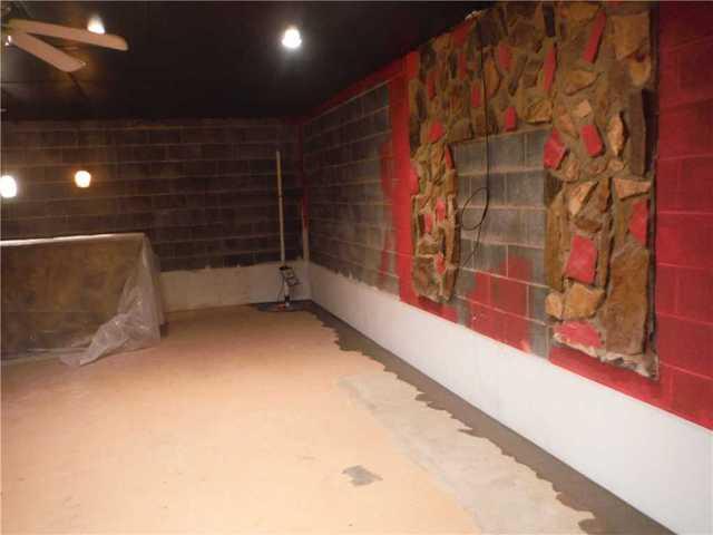 Basement Waterproofing in Gaffney, SC - After Photo