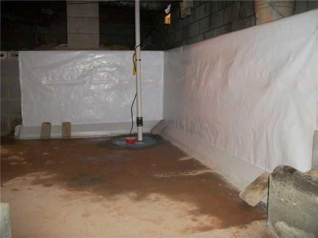 Sump Pump Installation in Columbus, NC - After Photo