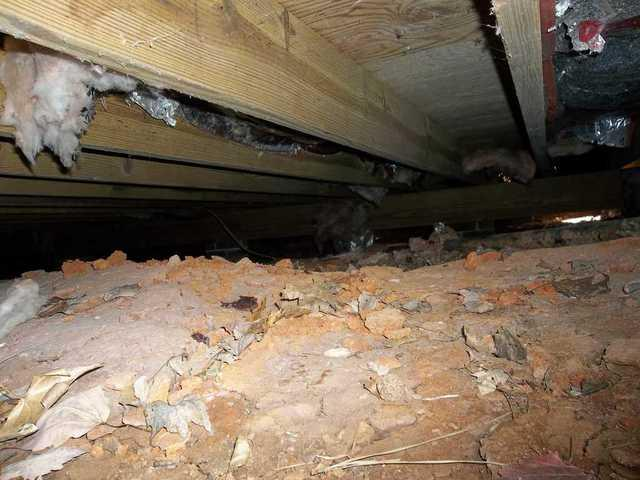 Sagging Crawl Space Repair in Whitmire, SC
