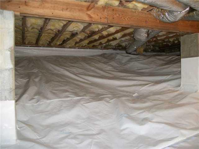 Crawl Space Encapsulation in Highlands, NC