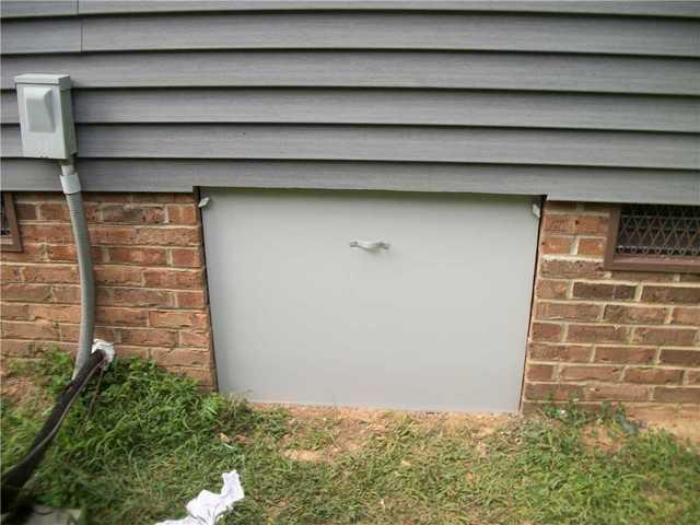 New EverLast Crawlspace Door for Union Mills, NC Crawlspace - After Photo