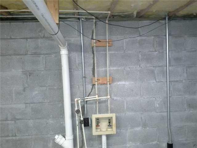 Huge Crack in Murphy, NC Basement Corrected with Push Piers - After Photo