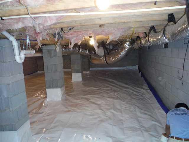 Simple Crawlspace Encapsulation in Chapin, SC