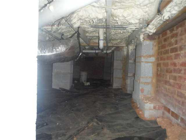 Moldy Crawlspace in Spartanburg, SC Gets Spruced Up with CleanSpace Encapasulation