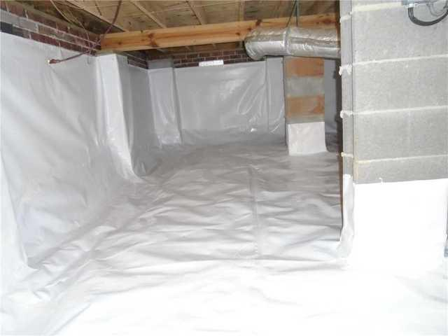 Damp, Dark Crawlspace in Easley, SC Gets New Look with CleanSpace Liner