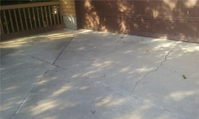 Crack Repair on Greenville, SC Driveway Using Nexus Pro