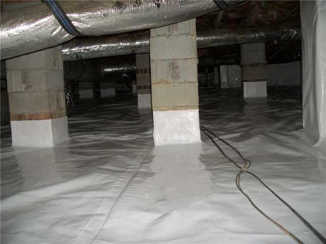 Crawlspace in Blythewood, SC Gets New CleanSpace Encapsulation System