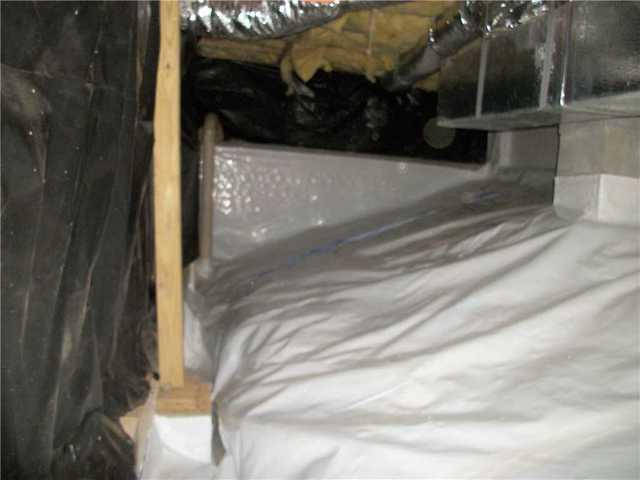 Soaked Crawlspace in Brasstown, NC Gets a Full CleanSpace Encapsulation