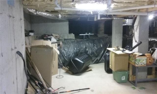 Basement/Crawlspace Storage Area in Travelers Rest, SC Gets CleanSpace and Dehumidifier