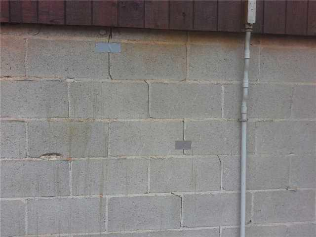 Cracks in Fair Play, SC Home Corrected with Installation of Push Piers