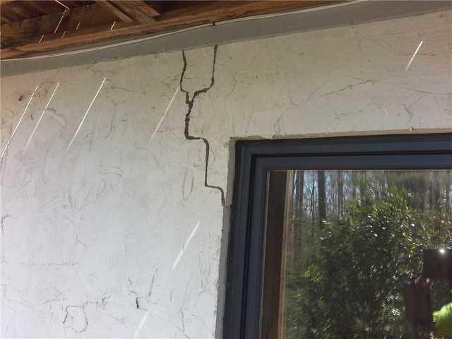 Cracks Around Window on Clemson, SC Home Repaired with Push Piers