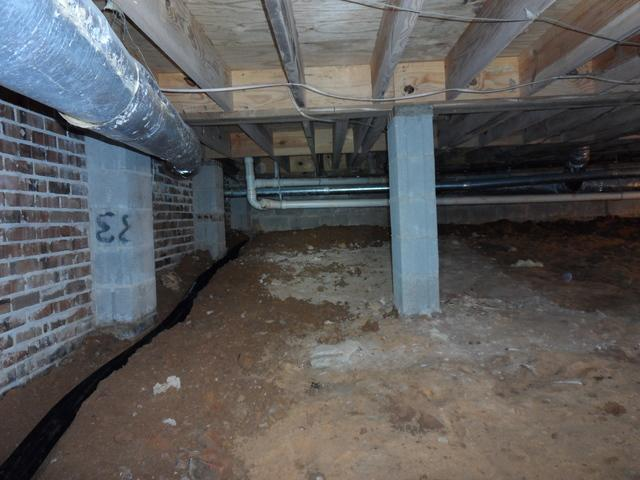 Moisture in Laurens, SC Crawlspace Leads to CleanSpace Encapsulation