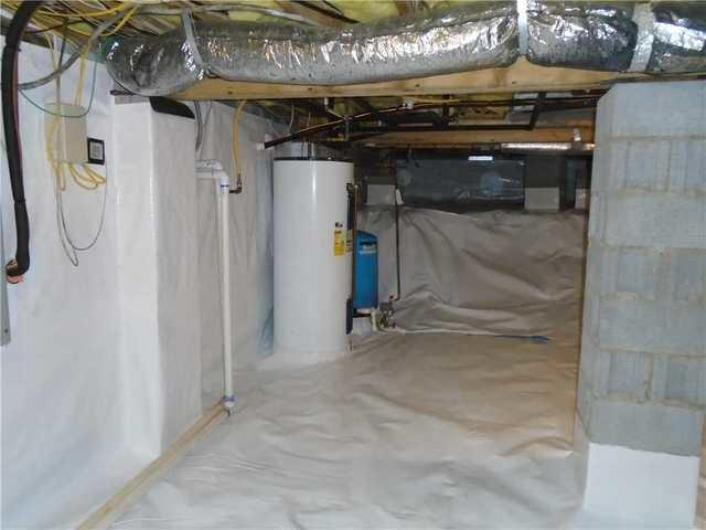 CleanSpace Installed in Lake Toxaway, NC Crawlspace After Water was Found