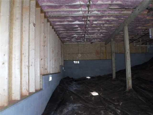 Crawlspace in Greer, SC In Need of CleanSpace Encapsulation