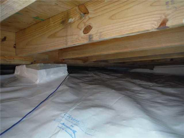 Low Clearance Crawlspace in Salem, SC Gets CleanSpace Encapsulation