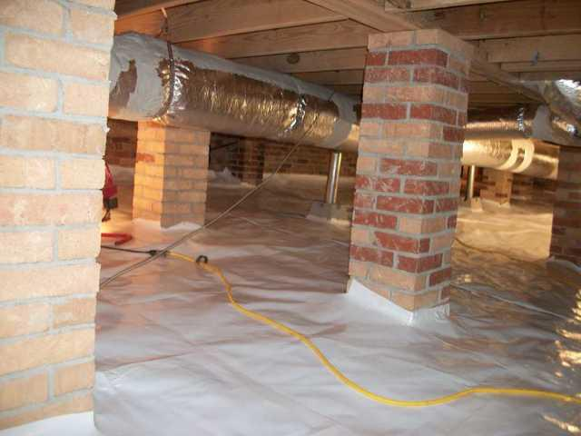 West Columbia, SC Crawlspace with Musty Smell Gets CleanSpace Encapsulation