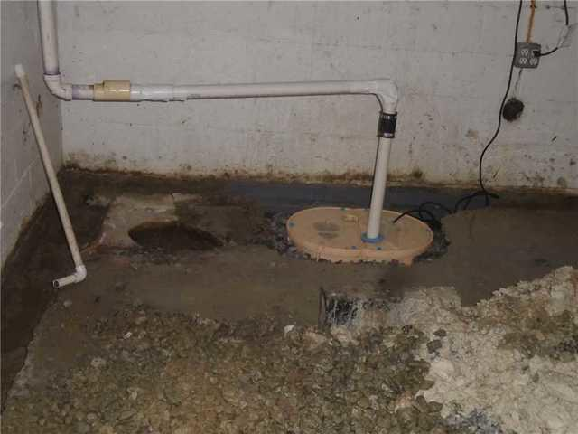 Home with Severe Water Intrusion in Columbia, SC Basement Has NewTripleSafe Sump Pump Installed