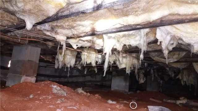 Soaked Floor Joists and Insulation in Bowersville, GA Leads to CleanSpace Encapsulation
