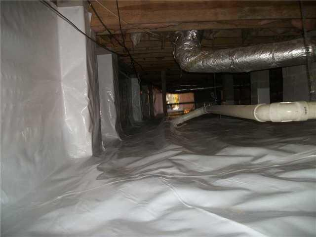 Chapin, SC Crawlspace in Need of CleanSpace Encapsulation