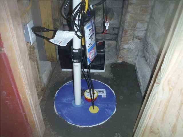 Columbia, SC Homeowner Has New Waterproofing System and SuperSump Installed in Basement - After Photo