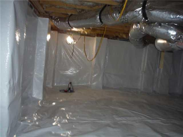 Spartanburg, SC Crawlspace Gets a New Look with Our CleanSpace
