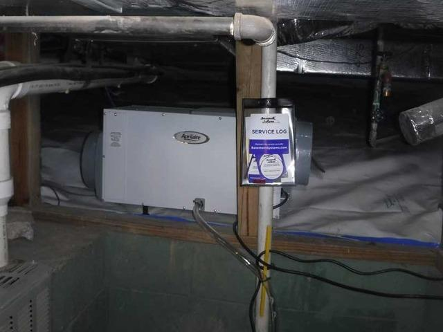 Aprilaire and CleanSpace Give Brevard, NC Crawlspace the Perfect Solution