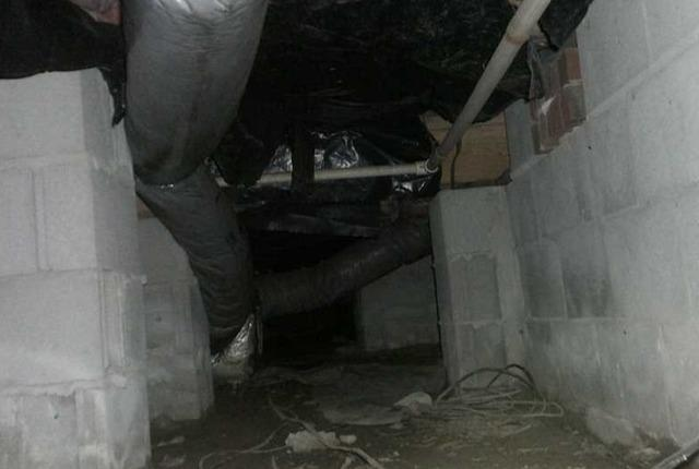 Creepy Crawlspace in Lexington, SC is Covered in CleanSpace