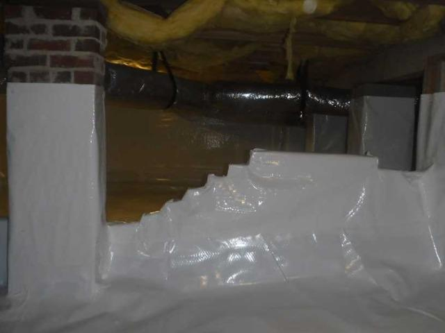 Moore, SC CleanSpace Encapsulation in the Crawlspace