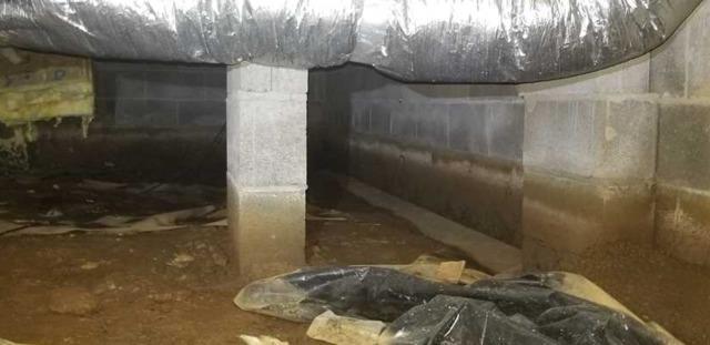 SmarkJacks installed in Tamassee, SC Crawlspace