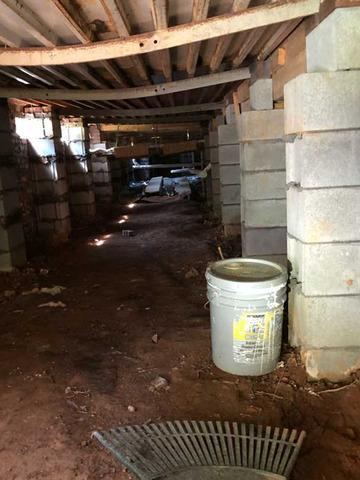 Total Encapsulation of Blacksburg, SC crawlspace - Before Photo