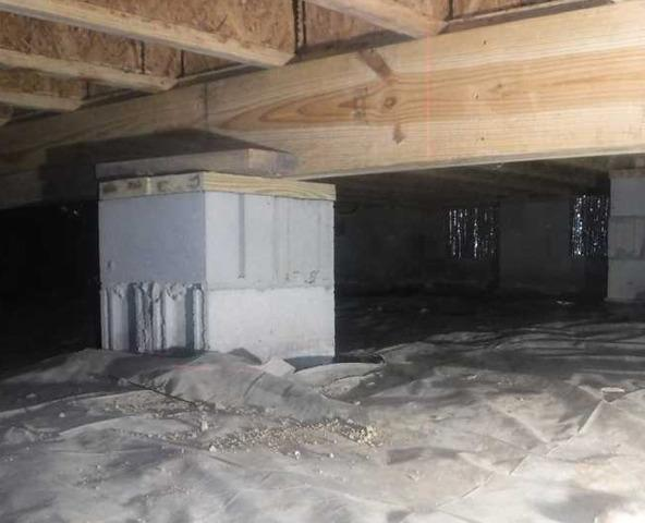 CleanSpace installed in Ninety Six, SC Crawl Space
