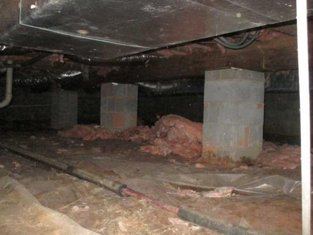 Encapsulation of Rutherfordton, NC Crawl Space