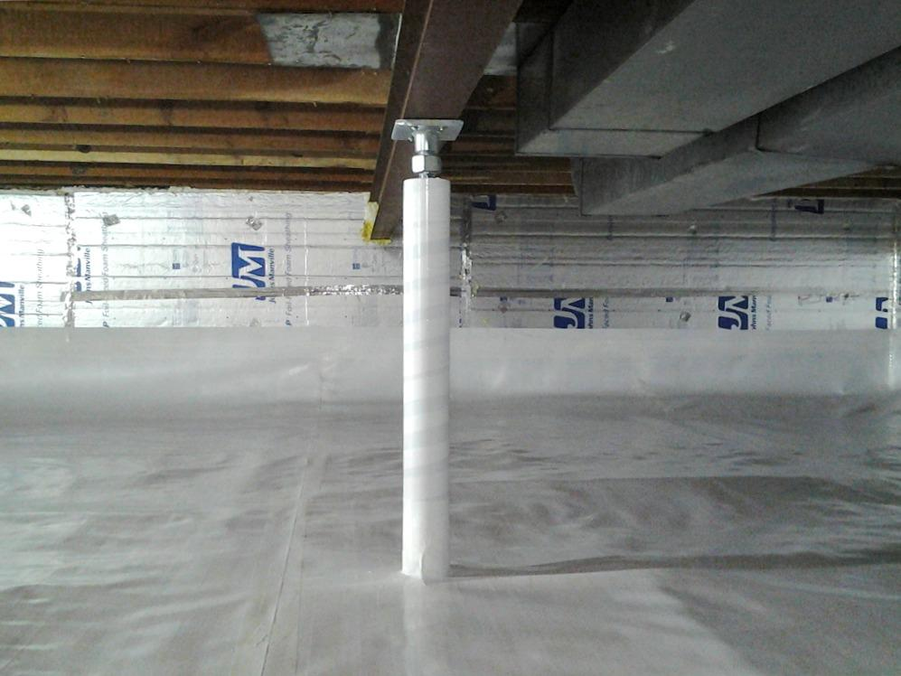 Crawl Space Waterproofing in Maple Grove, MN - After Photo