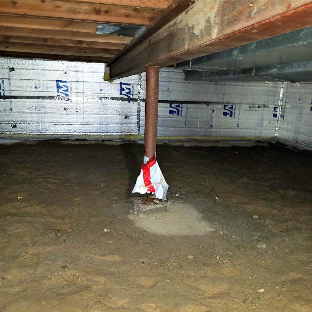 Crawl Space Waterproofing in Maple Grove, MN - Before Photo