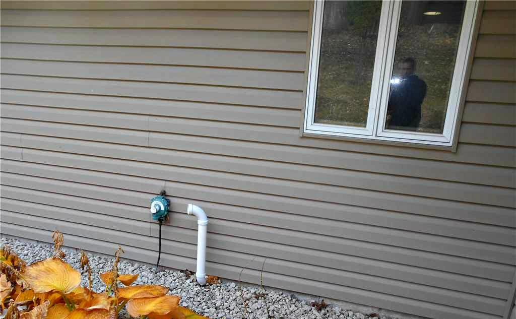 Radon Mitigation in Eyota, MN - Before Photo