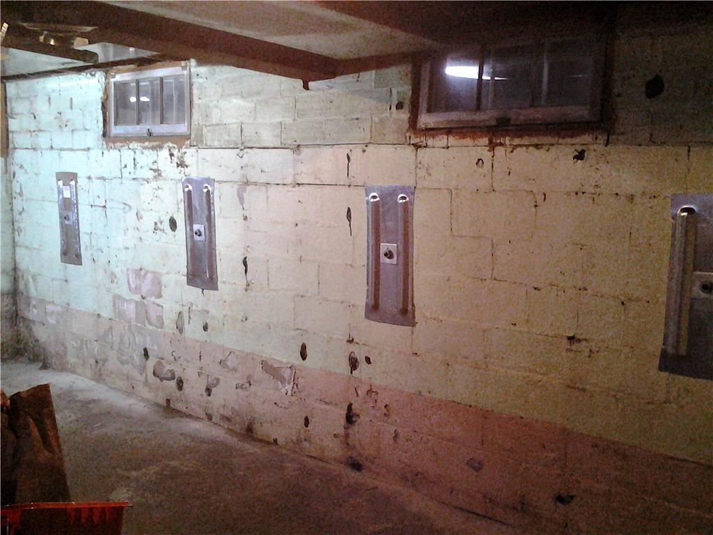 Bowing Foundation Wall in Mabel, MN - After Photo