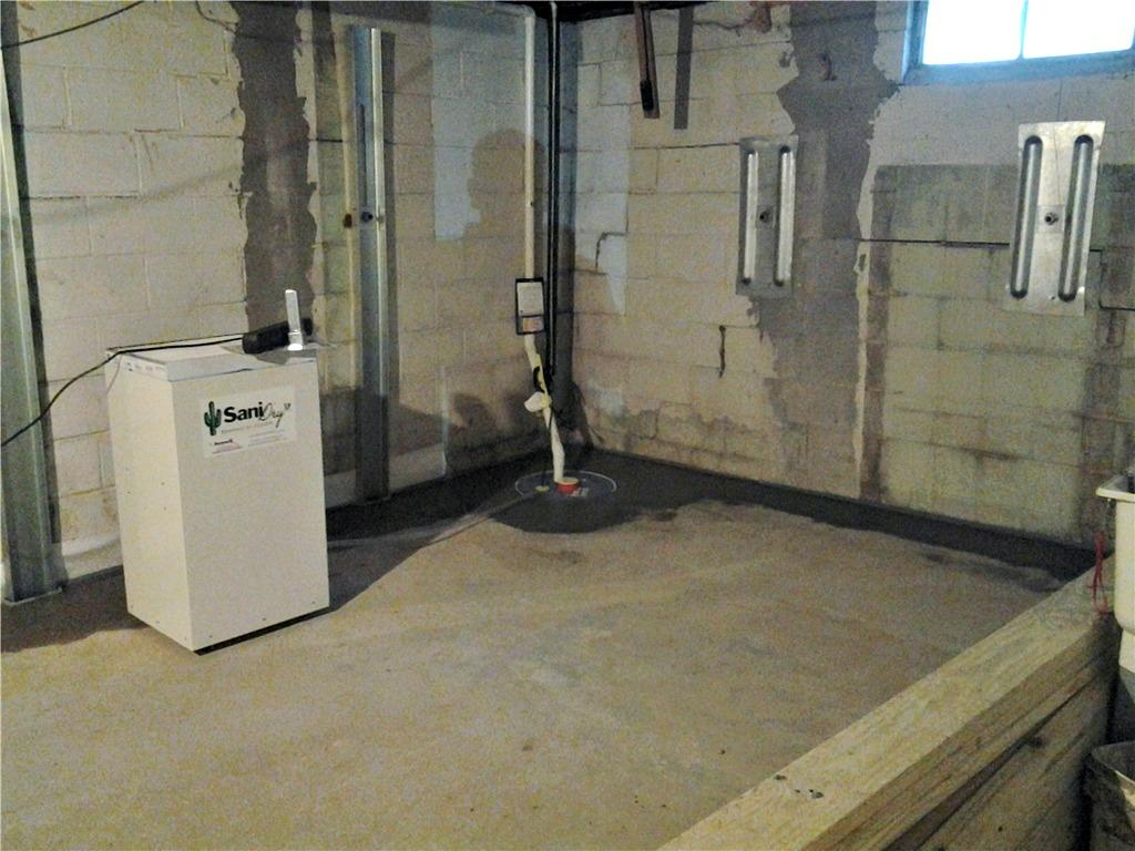Wet Basement and Damaged Foundation in Oelwein, WI - After Photo