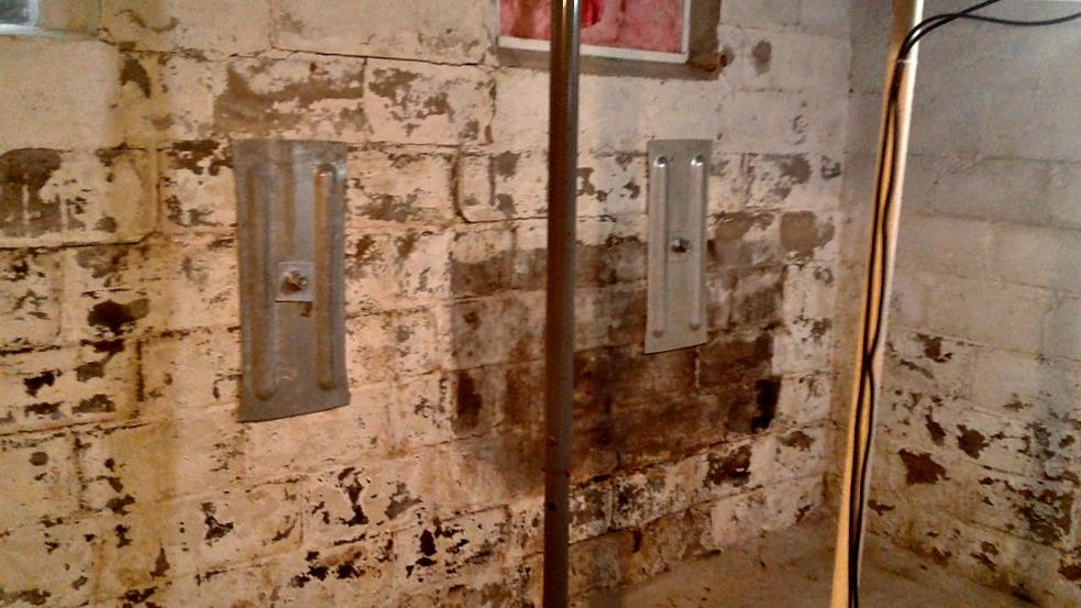 Cracked Basement Walls Secured in Strum, WI - After Photo