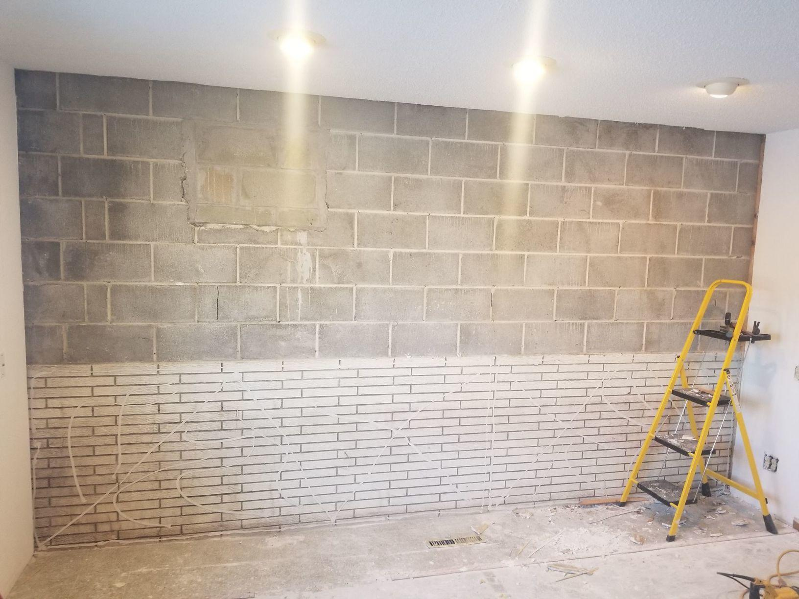 Carbon Fiber Wall Protection in Rochester, MN - Before Photo
