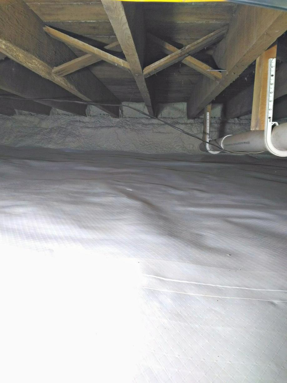 Crawl Space Encapsulation in Ferryville, WI - After Photo