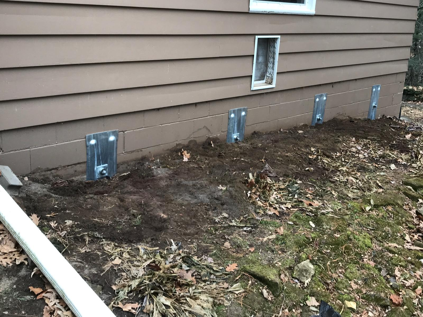 Cracked Foundation Wall in Tomah, WI - After Photo