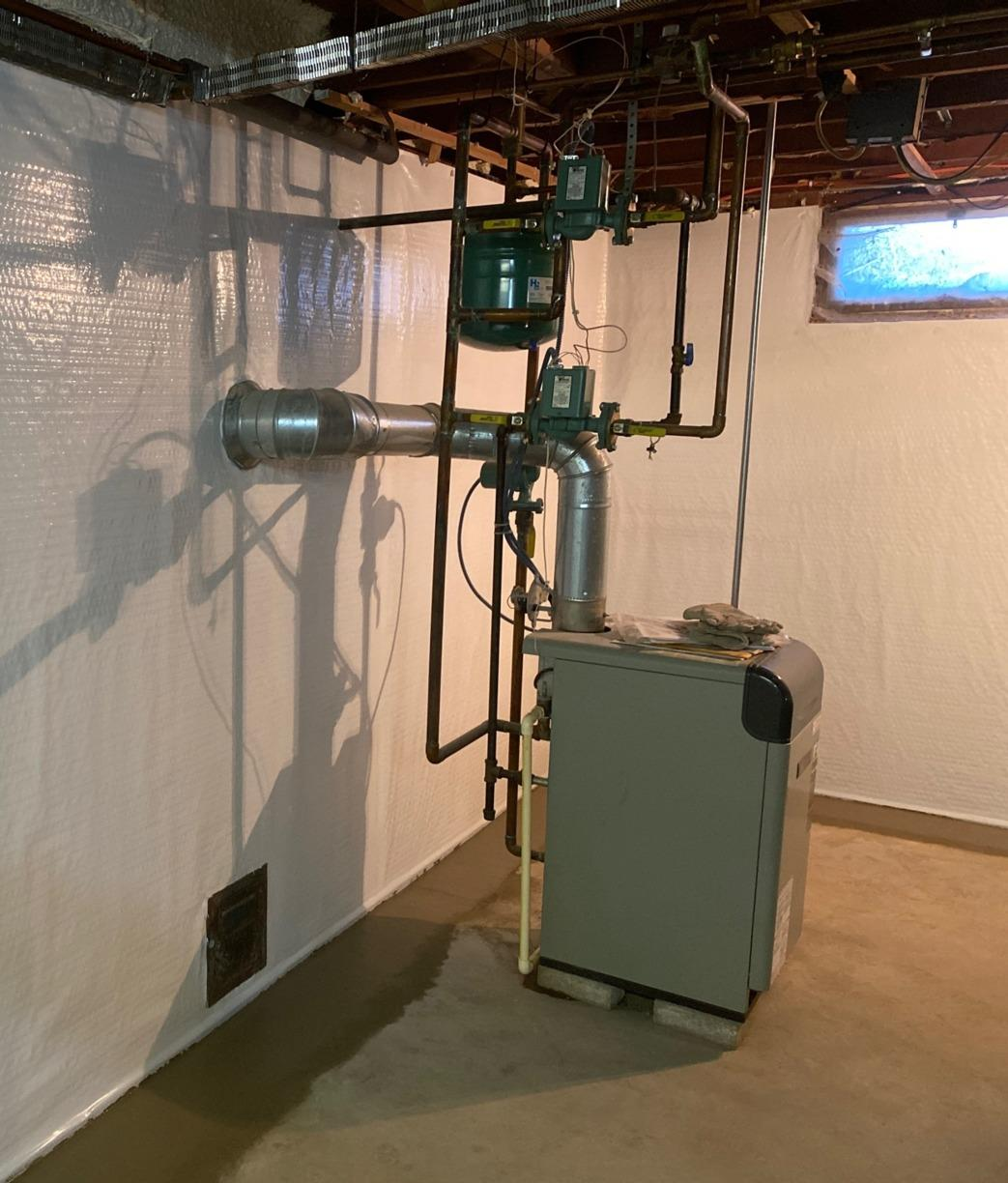 Basement Waterproofing in Tomah, WI - After Photo
