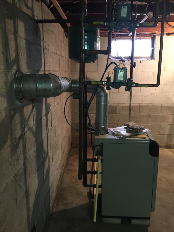 Basement Waterproofing in Tomah, WI - Before Photo