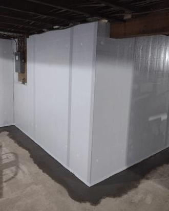 Wet Basement Waterproofing in Wilton, WI - After Photo