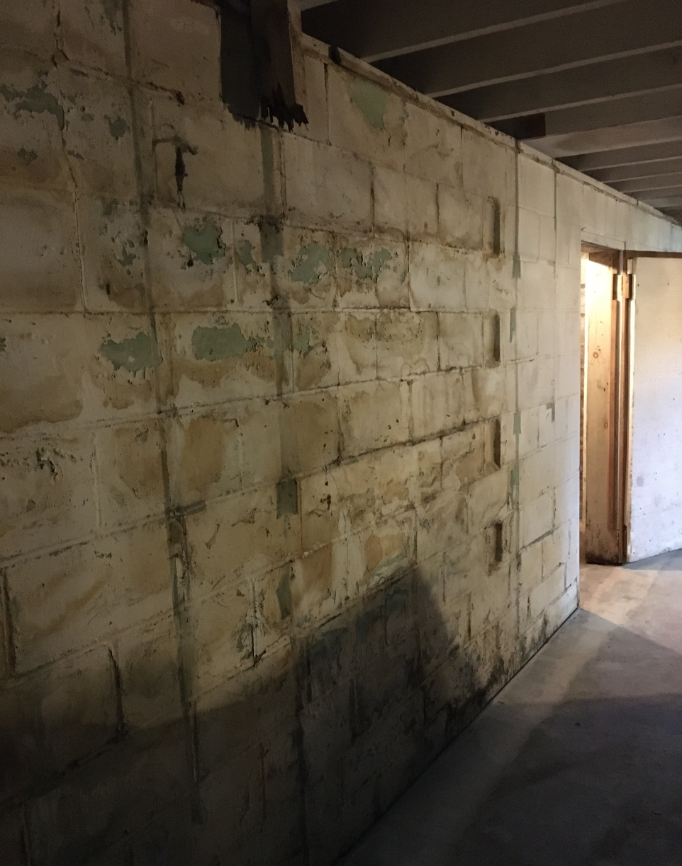 Basement Waterproofing Contractor in Warrens, WI - Before Photo